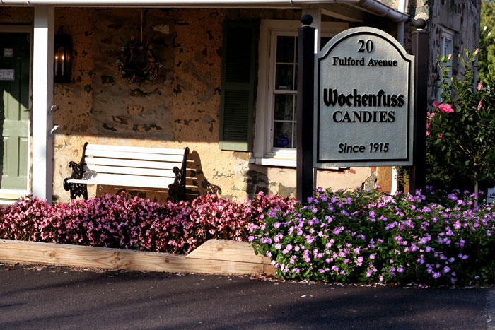 Business Landscaping - Wockenfuss Candies
